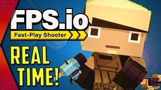 FPS.io - NEW AWESOME FAST-PACED MOBILE SHOOTER! | MGQ Ep. 203