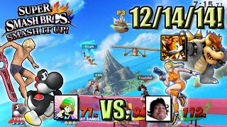 Super Smash Bros. - Smash It Up! (Wii U) - 12/14/14! Raqib