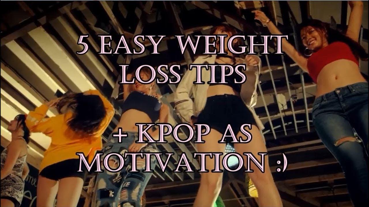 5 WEIGHT LOSS TIPS + KPOP AS MOTIVATION