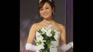 TOKYO BRIDAL FESTA 2010  夏川純さんブライダルインナーbridalbloomを着る!!! 夏川純 検索動画 29
