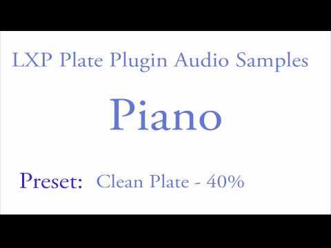 LXP Plate Plugin Piano Samples.mov
