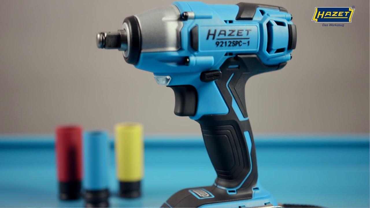 Hazet Cordless Impact Wrench Set 18 V 9212 Spc 1 Max 260 Nm