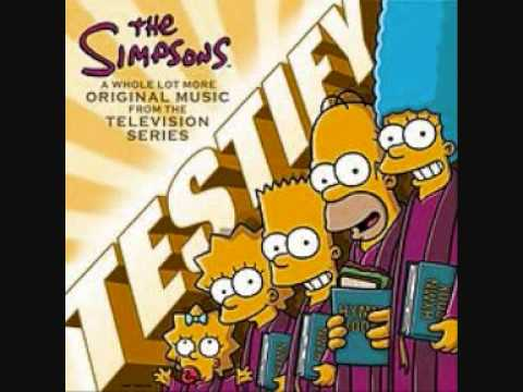 The Simpsons - Stretch Dude and Clobber Girl