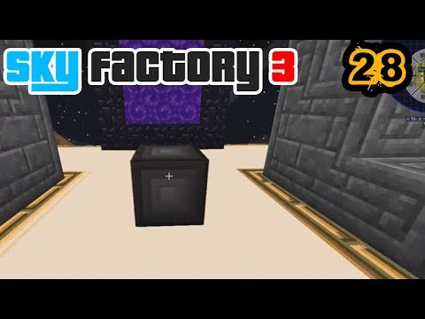 Dimensional Adventures! | Minecraft: New Sky Factory 3 Ep. 28