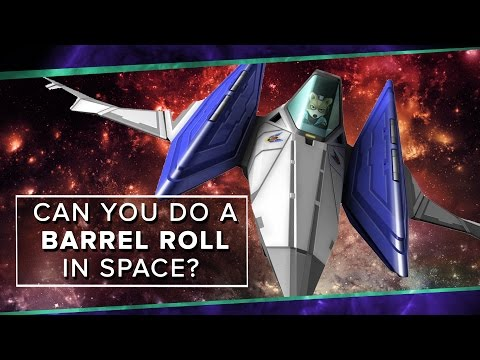 Can A Starfox Barrel Roll Work In Space? | Space Time | PBS Digital Studios