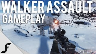 WALKER ASSAULT GAMEPLAY - Star Wars Battlefront Gameplay