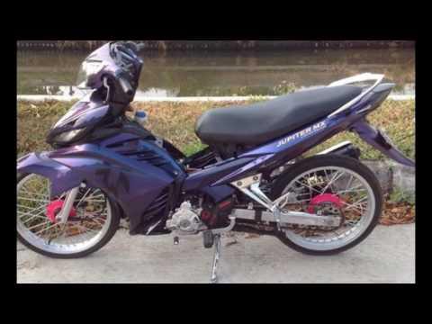 Cah Gagah | Video Modifikasi Motor Yamaha Jupiter MX Velg Jari-jari Keren Terbaru Part 2