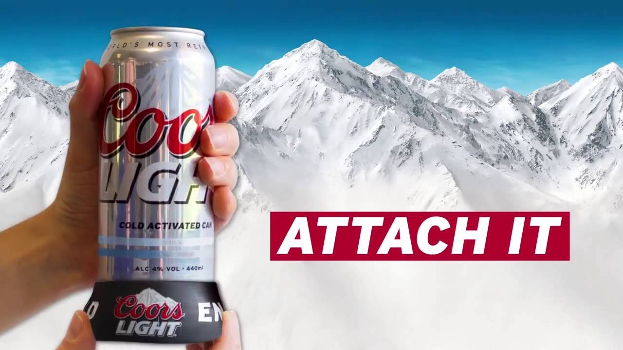 Keep Your Coors Light Dammecold With A Stay Cold Coaster