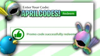 *APRIL* ALL NEW WORKING EASTER ROBLOX PROMO CODES 2020 | APRIL 2020 PROMOCODES