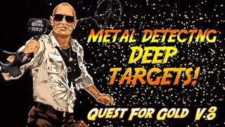 Metal Detecting DEEP TARGETS Using NEL Storm Coil For AT Max