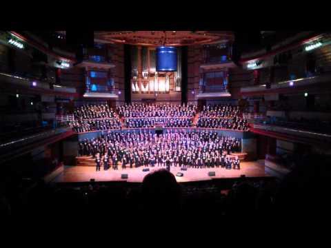 Rock Choir Someone Like You Symphony Hall 2014
