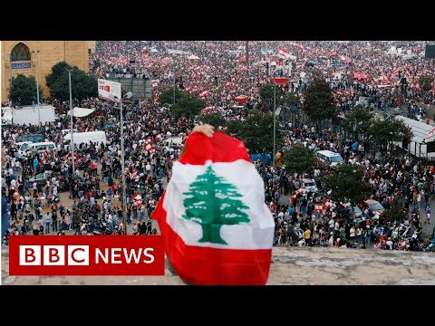 Lebanon protests: Mass revolt continues as PM 'agrees reforms' - BBC News