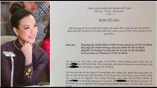 Bất ngờ lá đơn tố cáo con trai của cựu BT Lê Thanh Hải và nữ doanh nhân hoa hậu áo dài Trang Phương