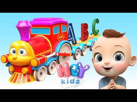HeyKids – La chanson de l'alphabet en franais  HeyKids – Comptines pour bb – Cantece pentru copii in limba franceza