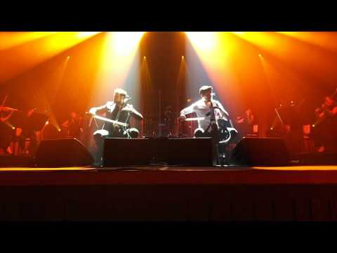 Chariots of Fire by 2cellos at Osaka, Japan on May 11, 2017