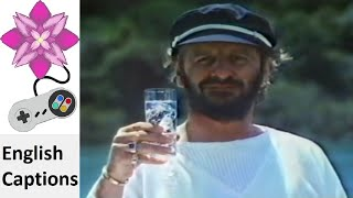 """No fish are to be seen here, but Ringo Starr reels in some Schweppes. Visit chrislovesjapan.com for more content. Raw video taken from the """"callfromthepast3"""" ..."""