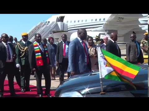 Mnangagwa hires $200,000 jet from Dubai to fly to Bulawayo from Harare
