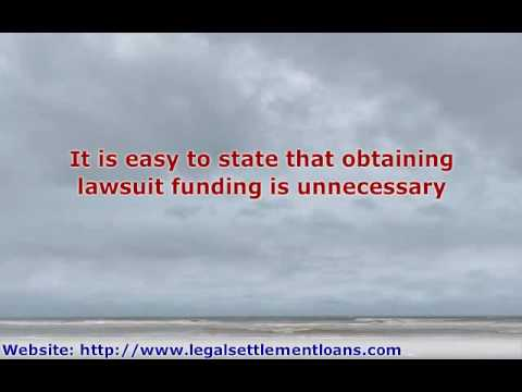 Lawsuit Funding - Why Your Attorney Would Recommend it For Y