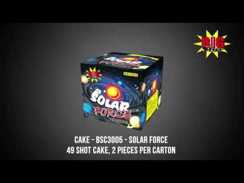 Big Star Fireworks - Cake - BSC3005 - Solar Force