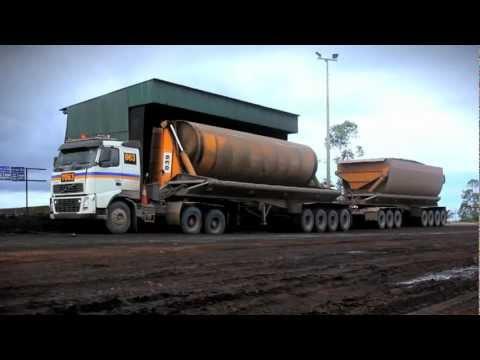 Volvo Trucks - Heavy hauling in Indonesia