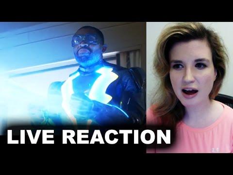Black Lightning Trailer 2017 REACTION