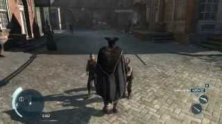 Assassin's creed 3 - Gameplay HD (Funny moments + fight)