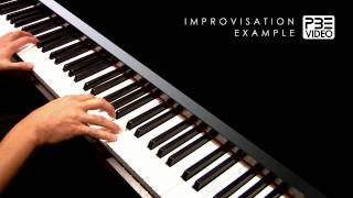 We are the Reason | Avalon | PBE Piano Improvisation Example