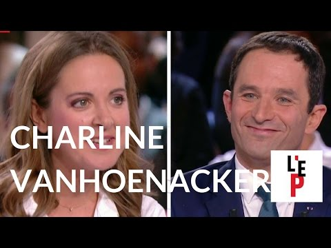 Chronique de Charline Vanhoenacker face à Benoît Hamon le 09/03/17 - L'Emission politique (France 2)