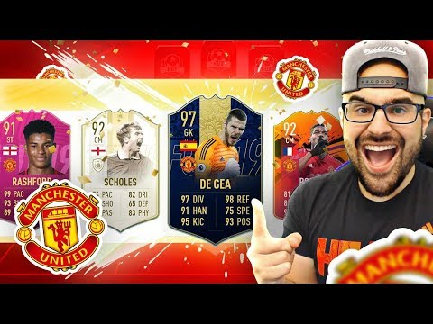 YOU WONT BELIEVE THIS INSANE DRAFT! FIFA 19 Ultimate Team Manchester United Highest Rated Draft
