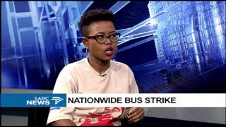 Bus drivers strike continues: Phakamile Hlubi