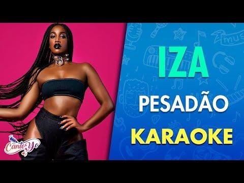 IZA - Pesadão (Clipe Oficial) Letra | CantoYo