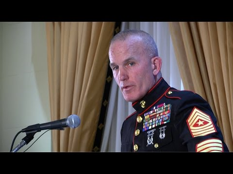 2017 -6th Annual Salute to Iraq and Afghanistan Veterans -Sergeant Major Bradley Kasal -Full Length
