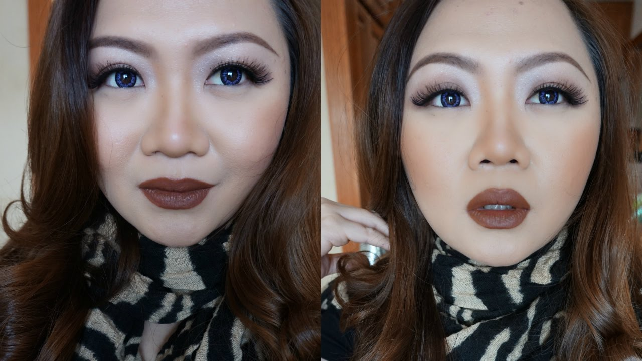 Grwm Get Ready With Me Brown Lips Makeup Tutorial Bahasa