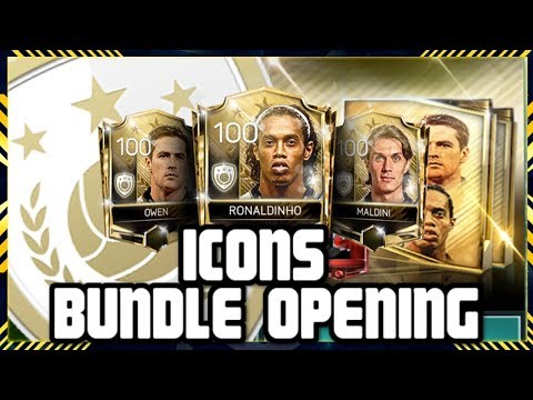FIFA MOBILE 18 S2 ICONS BUNDLE!! ICONS PACKS & ICONS LIVE EVENT WITH RONALDINHO!