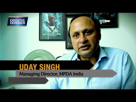 Indian Television Dot Com's Executive Dossier with MPDA India MD Uday Singh
