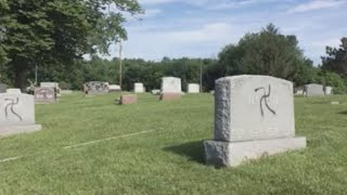 Illinois cemetery vandalized with swastikas
