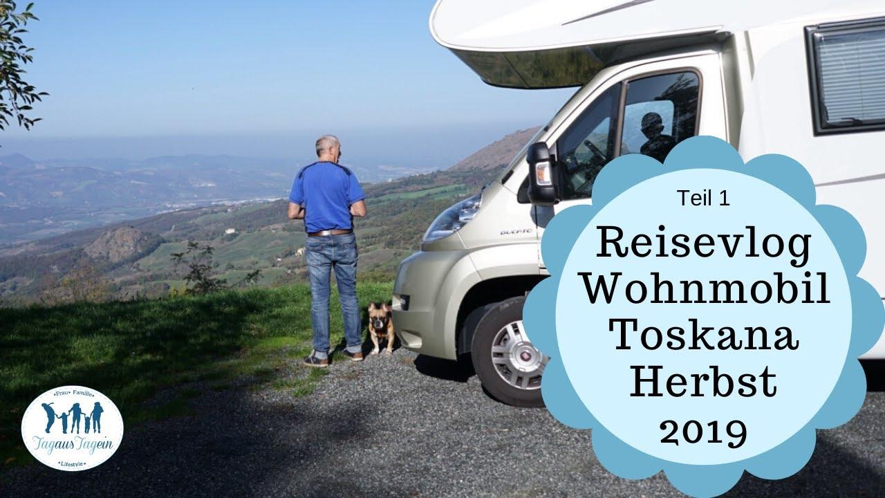 Wohnmobil Reisebericht 🍂 Toskana im Herbst 🍁 Reisevlog Teil 10 - Pisa