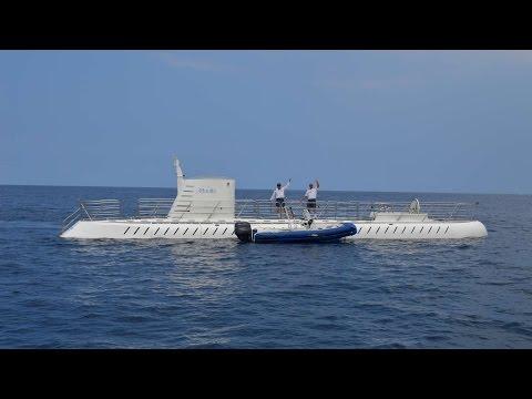 Atlantis Submarine from Kona, Hawaii - Two Shipwrecks!  The Naked Lady and Predator