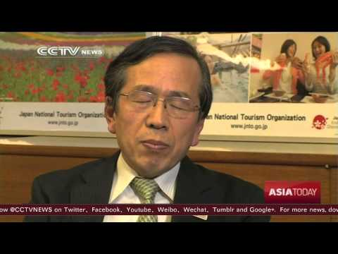 Japan welcomes influx of Chinese tourists