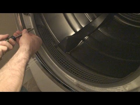 Clean Out Dryer Lint on Electrolux Dryer