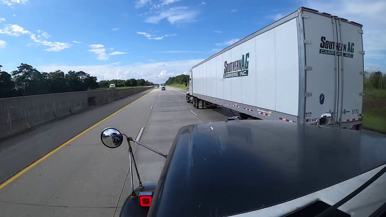 TIME MANAGEMENT IS EVERYTHING IN TRUCKING! + TIME-LAPSE TRIP