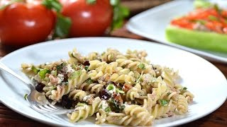 Pasta Salad With Arugula And Goat Cheese - Easy Salad Recipes