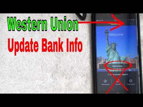 ✅  How To Add Or Change Payment Info On Western Union Payment App 🔴