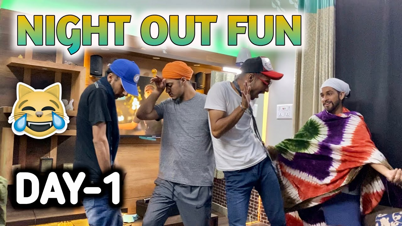 NIGHT OUT FUN WITH TIKTOKERS🔥 - VLOG DAY1 - BEINGSARDAR