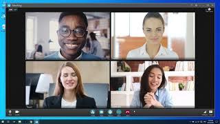 Record a U meeting | U Meeting Tutorial screenshot 2