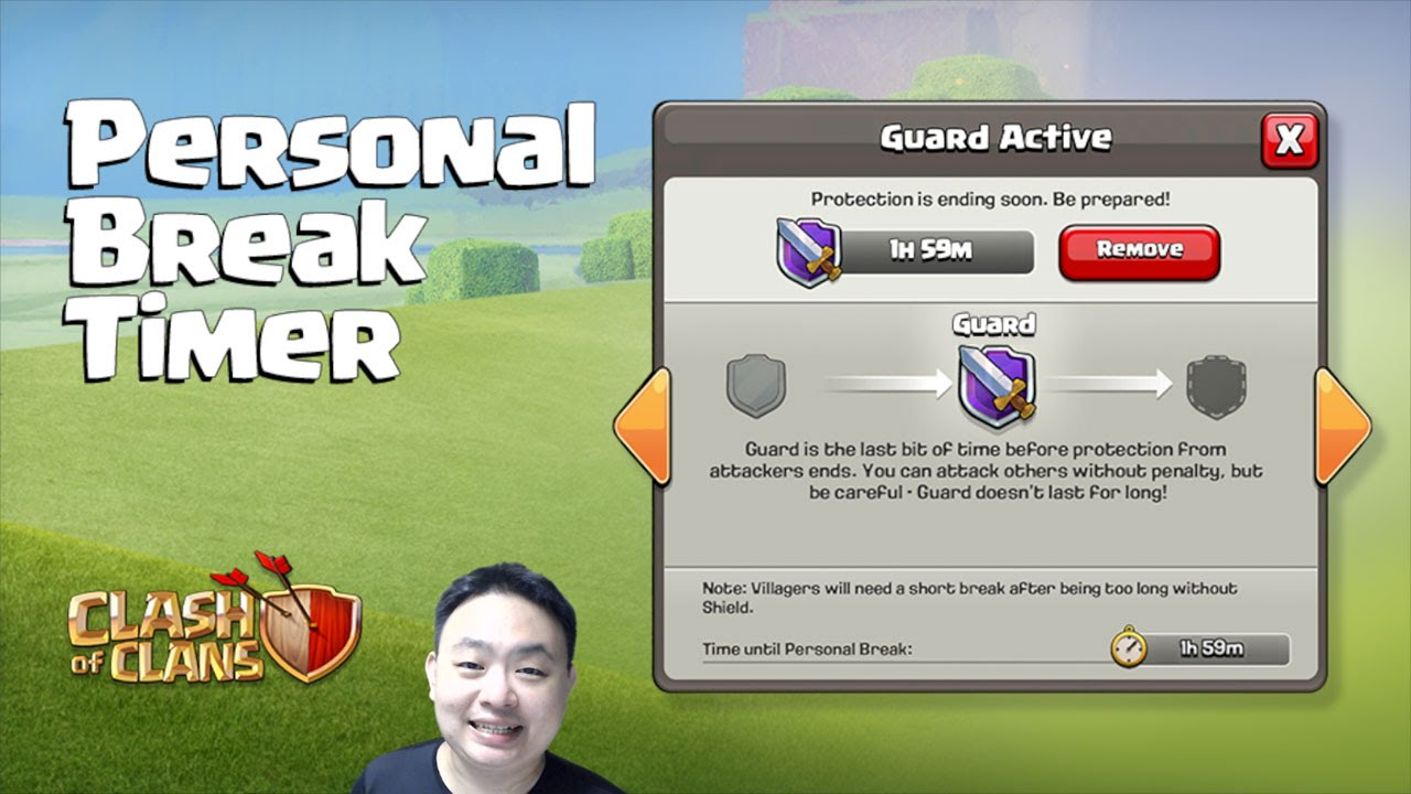clash of clans personal break timer winter update bug patches