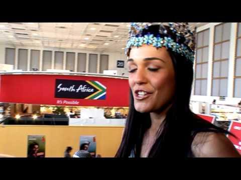 Kaiane Aldorino, Miss World 2009 @ ITB 2010