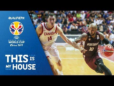 Venezuela v Canada - Full Game - FIBA Basketball World Cup 2019 - Americas Qualifiers
