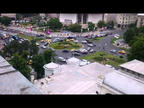 Z Boutique Hotel Bucharest. View From 8th Floor.