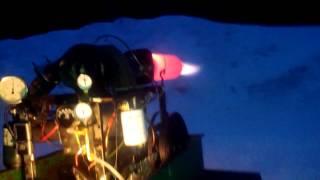 Homemade Jet Engine Afterburner Test